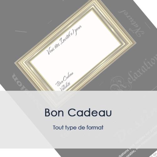 DESIGN - BON CADEAU