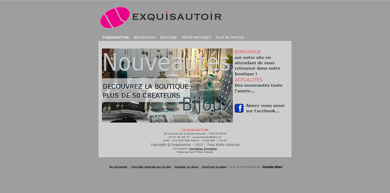 Exquisautoir web