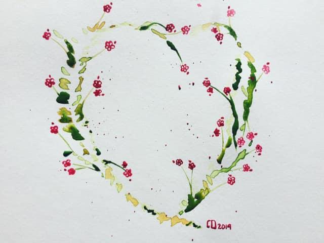 Coeur et graine