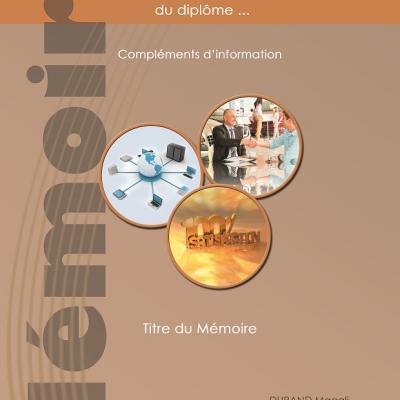 Page de Garde Mémoire Diplôme