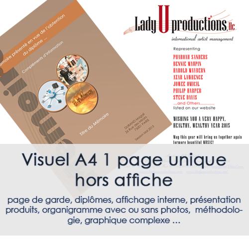 DESIGN - VISUEL A4
