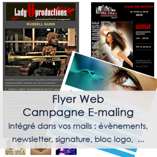 WEB - FLYER, NEWSLETTER, E-MAILING ...