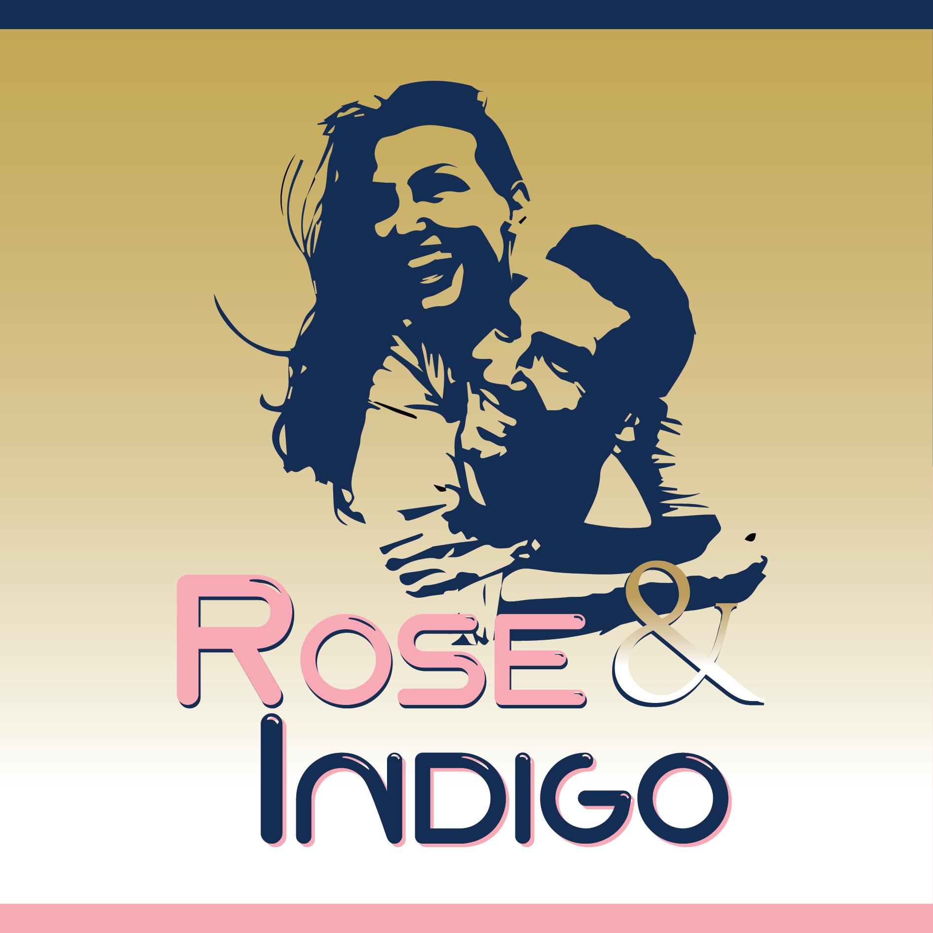 Logo rose indigo couple2