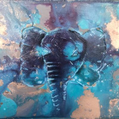 MIX ELEPHANT | PEINTURE